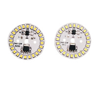 10 Teile/los LED SMD Chip LED Birne Lampe 15W 12W 9W 7W 5W 3W AC220V Eingang Smart IC LED Bean Für Birne Cold White Warm Weiß-in LED-Chips aus Licht & Beleuchtung bei