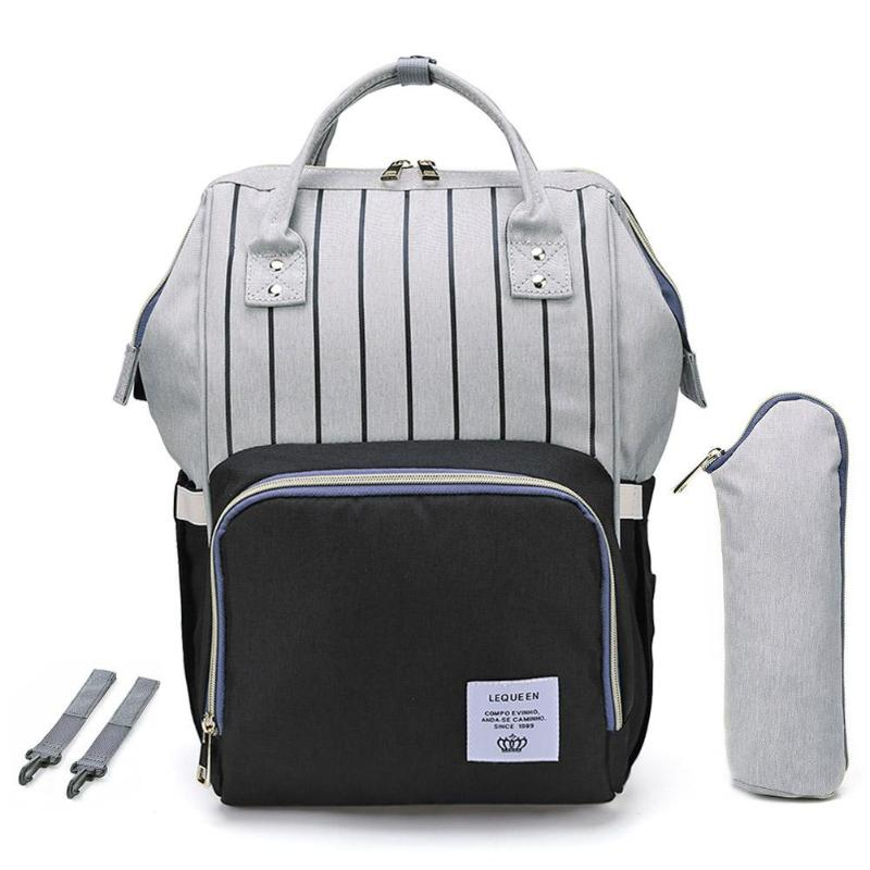 HTB17XE affsK1RjSszbq6AqBXXaW LEQUEEN Fashion USB Mummy Maternity Diaper Bag Large Nursing Travel Backpack Designer Stroller Baby Bag Baby Care Nappy Backpack