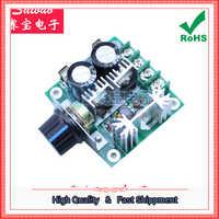 Regulador de motor de cc bomba de pwm continuamente variable Interruptor de Control de Velocidad 12 V-40 V 10A (C7A3) 0,17 kg