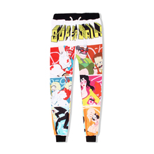 New Unisex Superjail 3D Print Loose Pants Mens Cool Willy Wonka full Length Pencil Pant Womens