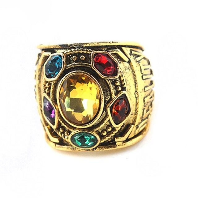 Кольцо камни Таноса Мстители Война бесконечности 2