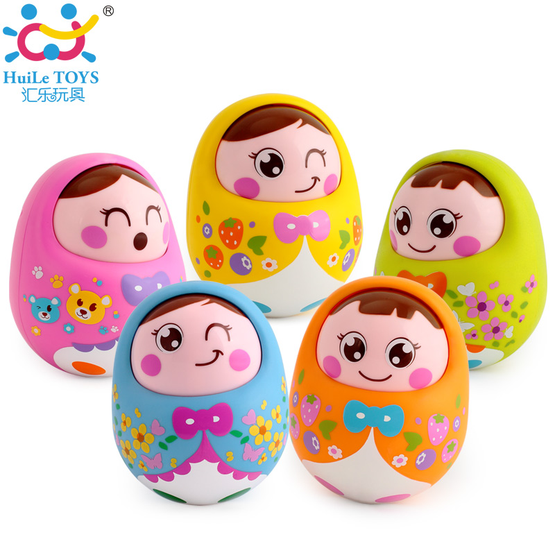 5pcs/Lot Baby Toy Tumbler Doll Mobile Musical Rattles Toys For Babies Newborns Roly-poly 0445110539 diesel common rail injector assembly quality is good