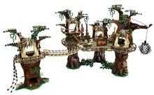 NEW LEPIN Star Wars Ewok Village Figure Model Kids Building Blocks Toys Set Marvel Minifigures Compatible Legoe