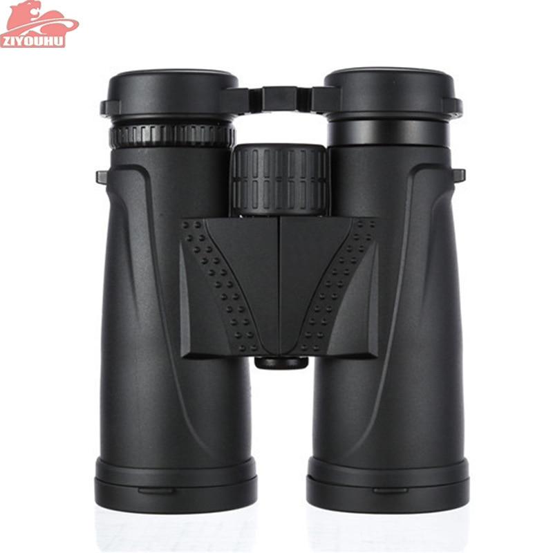 ZIYOUHU 10X42 Binoculars night vision binocular telescope Waterproof Central Zoom Portable Bak4 high quality Free shipping black