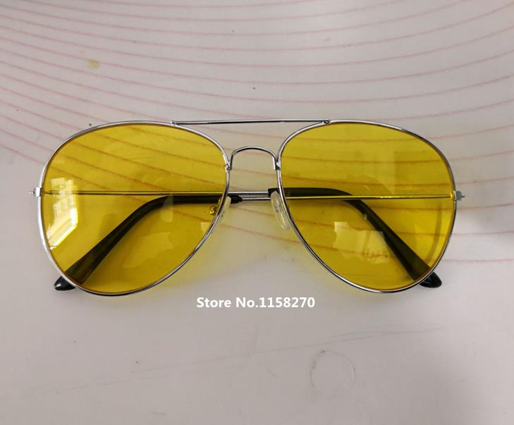 Game Far Cry 5 Preacher Joseph Seed Eyewear Yellow Cosplay Sunglasses