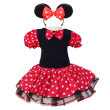 New Girls Dress Minnie Dot Tulle Pageant Unique Design Kids Clothing Party Fancy Costume Cosplay Baby Tutu Dresses elsa costume