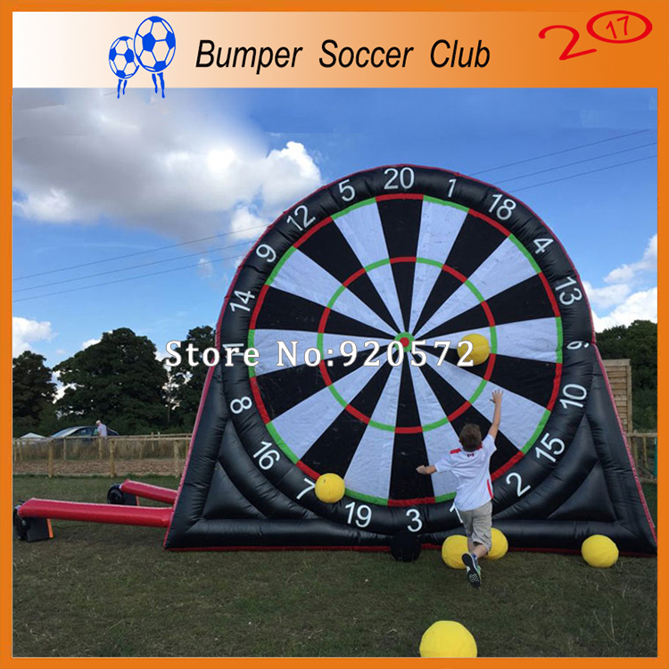 Free shipping ! New Design 3m/4m/5m/6m Inflatable Soccer Darts, Inflatable Dart Board,Football Dart Games for Kids and Adults baldessarini private affairs воронеж