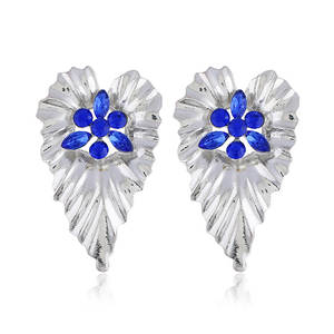 Big-Earrings Fashion Jewelry Large Women for Gold-Color Statement Vintage A0429 Leaf