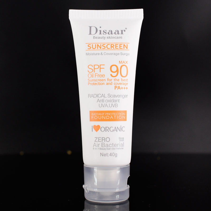 1 шт., солнцезащитный крем для лица Disaar beauty, уход за кожей лица, Spf Max 90, без масла, радикальный Мусорщик, антиоксидант, UVA/UVB, 40 г, солнцезащитный крем