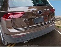 FOR VW TIGUAN mk2 2016 2017 2018 rearguards trunk rear tail box chrome trim
