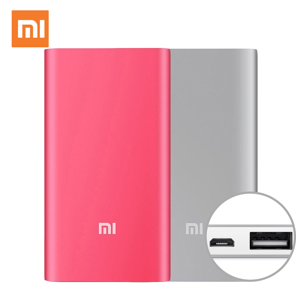 xiaomi mi powerbank 5000mah power bank external battery micro usb portable bateria portable. Black Bedroom Furniture Sets. Home Design Ideas
