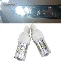 2x T20 7440 W21 5w W21w For CREE Chip Bulb White Yellow Red Auto Car LED