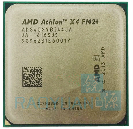 AMD Athlon X4 840 3.1 GHz Quad-Core CPU Processor AD840XYBI44JA Socket FM2+ цена и фото