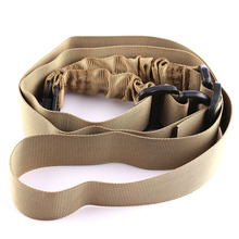 Outdoor Hunting Tactical Belt Fitness Carry Accessory Ordinary Waterproof Anti-tear Double Piont for Nerf - Army Green