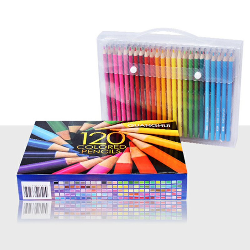 120/150/160 Colors Wood Colored Pencils Set Lapis De Cor Artist Painting Oil Color Pencil For School Drawing Sketch Art Supplies deli colored pencil nature wood drawing pencils art accessories 18 colors lapis de cor professional pencils cute stationery