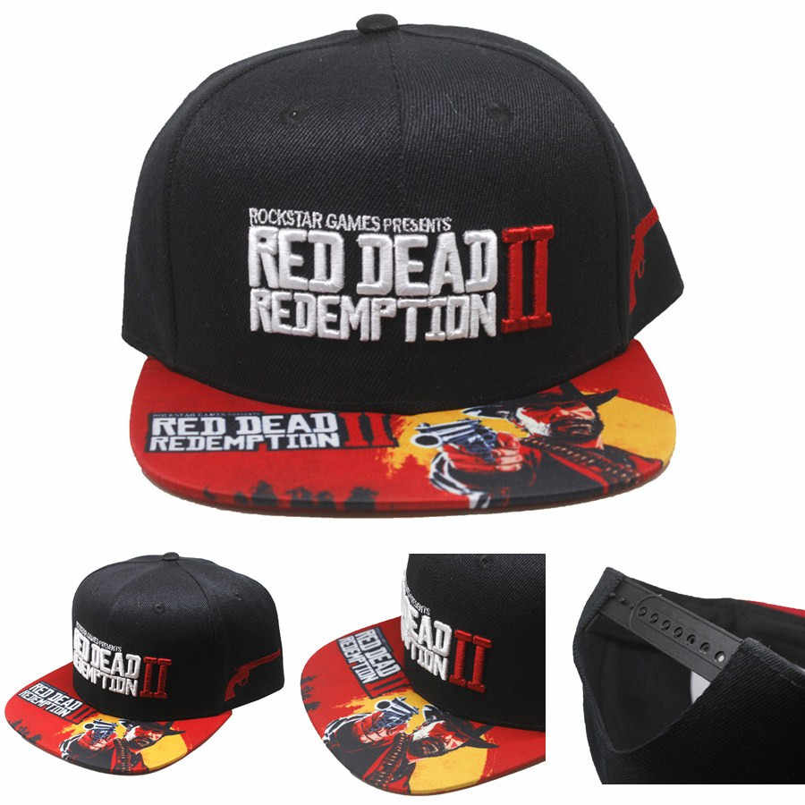 2be60909f2a Detail Feedback Questions about Red Dead Redemption 2 canvas Snapback Hat  adjusted Baseball Cap Game RDR 2 Hip Hop Embroidery Hat For Men Women on ...