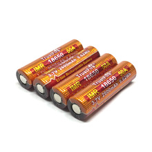 8pcs/lot TrustFire IMR 18650 Lithium Battery 50A 3.7V 2600mAh 9.62Wh High-Rate Rechargeable Batteries For E-cigs/LED Flashlight