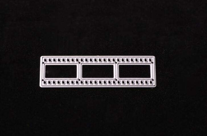 Film Metal Cutting Dies Stencils For DIY Scrapbooking/photo Album Decorative Embossing Folder Suit For  Cutting Machine