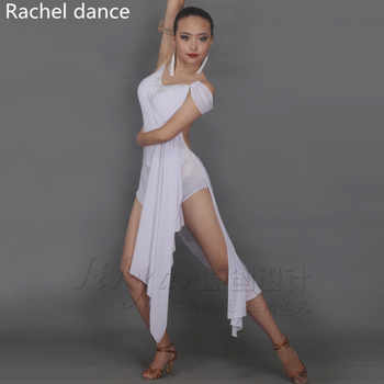 2017 Latin Dance Dress Women Tassel Style Back Opening Irregular Salsa Tango Rumba Flamengo Latin Dance Competition Costumes - DISCOUNT ITEM  10% OFF All Category