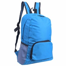 Outdoor Sports Cycling Bicycle Polyester Waterproof Foldable Backpack Hiking Bag Camping Mountaineering Climbing Travel Rucksack