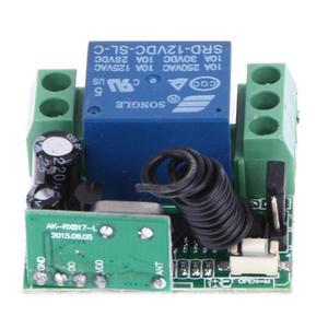 Image 3 - Kablosuz uzaktan kumanda anahtarı evrensel DC 12V 10A 433MHz Telecomando verici alıcı ile anti hırsızlık alarmı için sistemi
