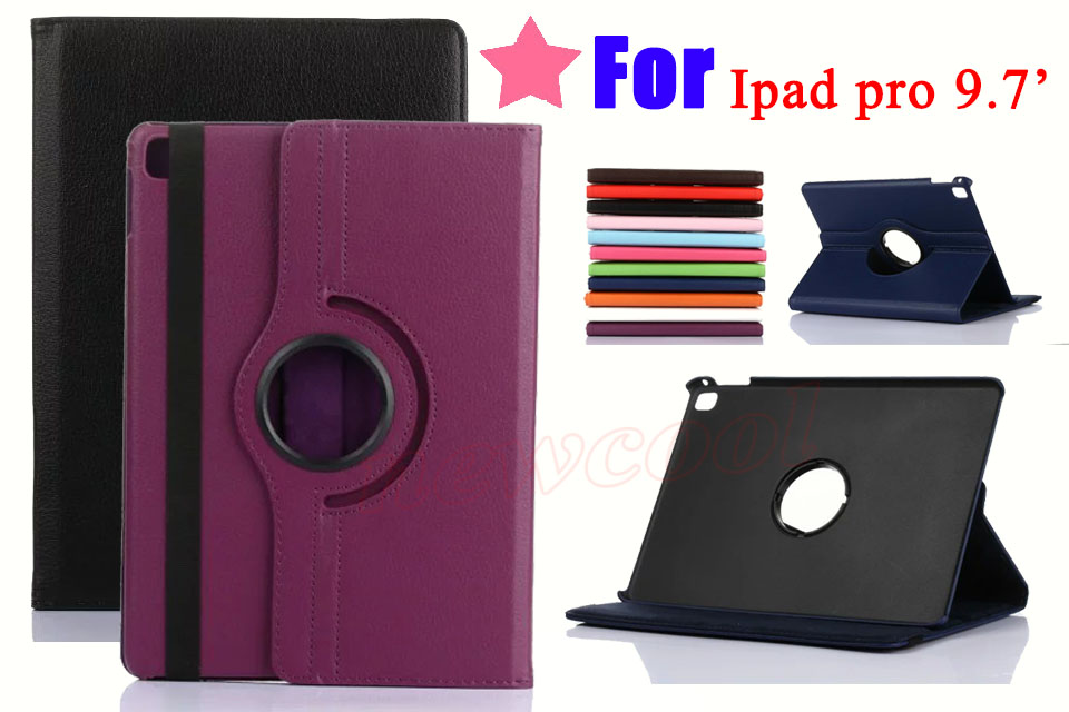 Full Coverage Flip Cover For Apple iPad Pro 9 7 inch 9 7 Tablet Case 360