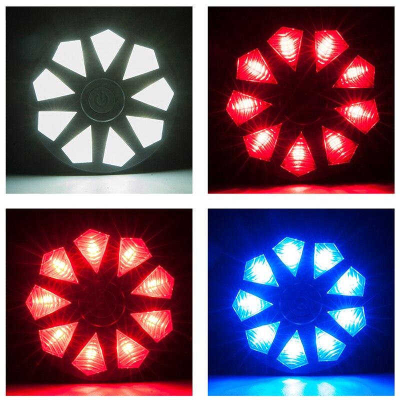 MZYRH 9 dijamantno stražnje svjetlo 3 načina vodootporan sigurnosni - Biciklizam - Foto 5