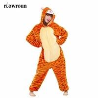 Unisex Adults Flannel Hoodie Pajamas Costume Cosplay Animal Onesies Sleepwear Men Women Unicorn Pikachu Giraffe Free