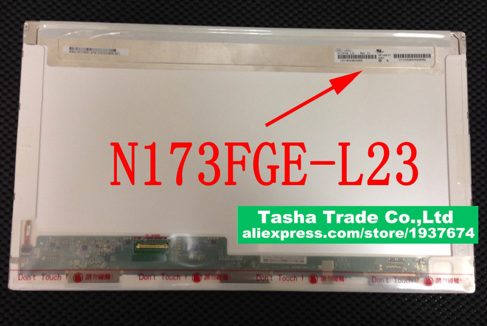 N173FGE L23 For ChiMei Innolux N173FGE L23 Rev C1 Laptop LCD Screen 17 3 LED Display