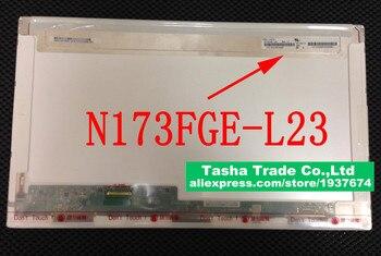 "N173FGE L23 For ChiMei Innolux N173FGE-L23 Rev.C1 Laptop LCD Screen 17.3"" LED Display 1600*900 HD+"