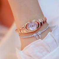 Women Watches Luxury Brand Diamond Watch Reloj Mujer Ladies Watch Fashion Gifts Gold Rose Silver Color Jewelry