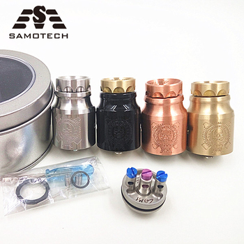 COOL comp lyfe E-cigarette RDA Rebuildable Dripping Tank Atomizer fit 510thread brass/copper material Big Vapor Tank RDA e xy goon v1 5 rda atomizer 528 rda electronic cigarette atomizer tank rebuildable dripping atomizer adjustable
