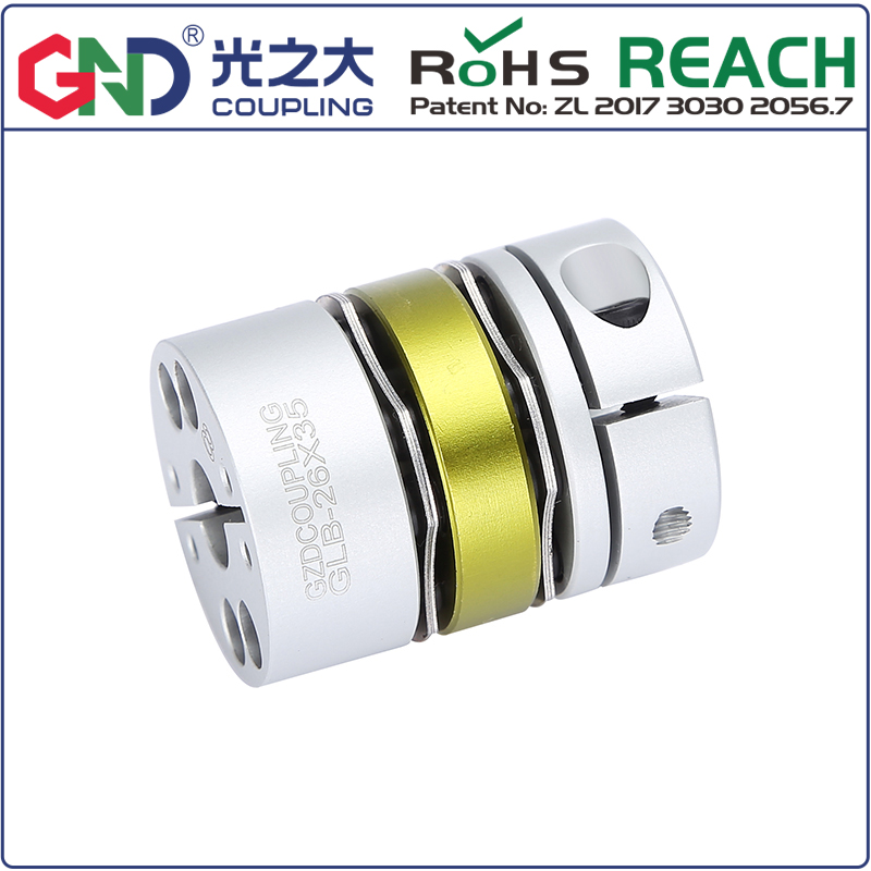 GLB aluminum alloy 8 screws double diaphragm series shaft couplings D 87mm to 126mm;L 94mm to 110mmGLB aluminum alloy 8 screws double diaphragm series shaft couplings D 87mm to 126mm;L 94mm to 110mm