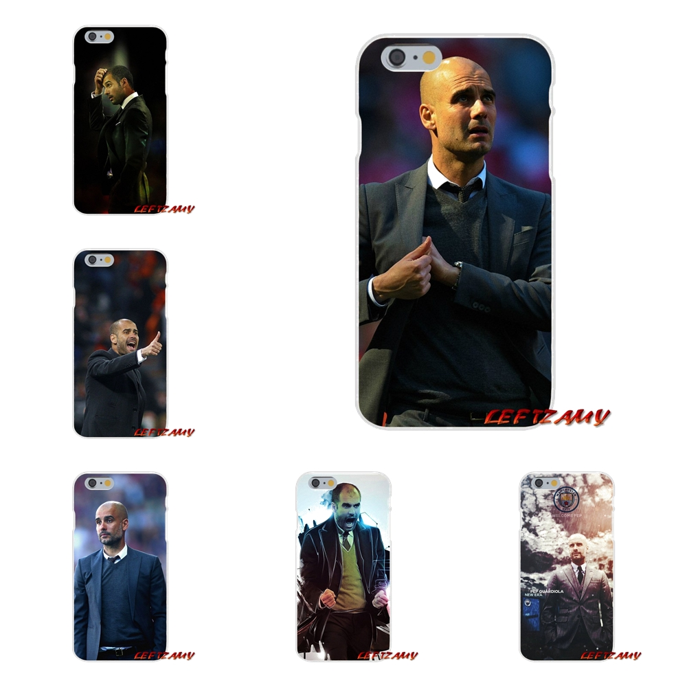 Soccer Coach Pep Guardiola Slim Silicone phone Case For Huawei P8 P9 P10 Lite 2017 Honor 4C 5X 5C 6X Mate 7 8 9 10 Pro