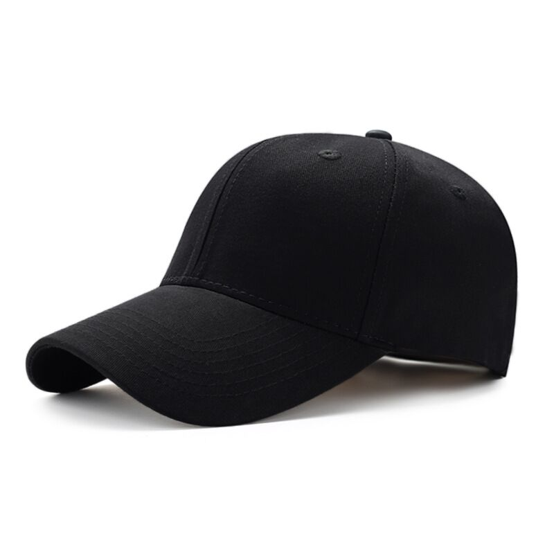 2019 Hot Women's   Cap   Men Solid Unisex Black Women Men's   Baseball     Cap   Men Female   Cap   Black   Baseball     Cap   Women