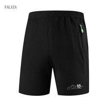Shorts Breathable Trouser Black-Color Quick-Dry Men Beach Summer Plus-Size Mens FALIZA