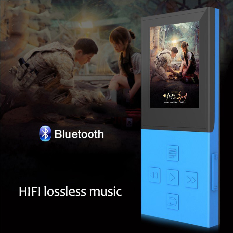 Draadloze Bluetooth HIFI Lossless MP3-speler 8 GB Recorder FM Video - Draagbare audio en video - Foto 3