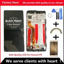 5.2 Pollici di Qualità AAA LCD + Frame Per HUAWEI P9 Lcd Screen Display Per HUAWEI P9 EVA L09 EVA L19 Digiziter Assembly