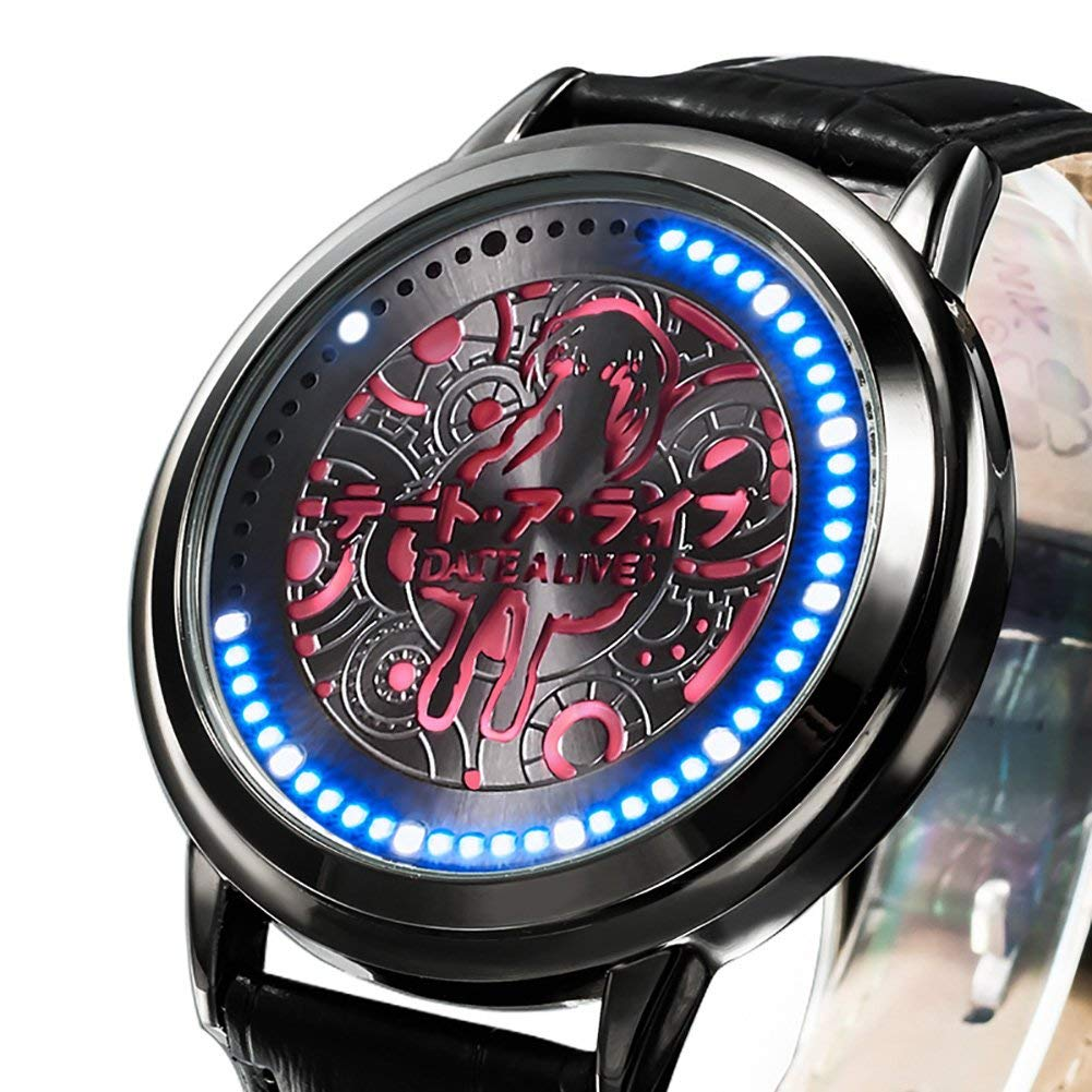 Novelty & Special Use Costumes & Accessories Anime Date A Live Tokisaki Kurumi Led Watch Waterproof Touch Screen Digital Light Watch Wristwatch Cosplay Props Gift New