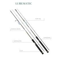 Приманка SHIMANO LUREMATIC, Удочки Спиннинг, удочки длиной 1,68/1,83/1,73 м, супер легкая карбоновая удочка, брендовые рыболовные снасти