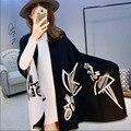 2016 Nueva Bufanda de Invierno Para Las Mujeres Bufandas Chales de Abrigo Manta de impresión Geométrica Abrigo de La Bufanda de Imitación de La cachemira Bufanda de Moda 8