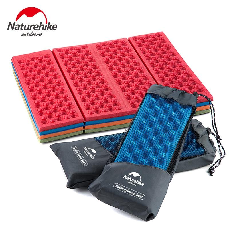 NatureHike Factory Store Outdoor Camping Seat Mat Folding Portable EVA Cushion Beach Moistureproof Mattress Pad Egg Slot
