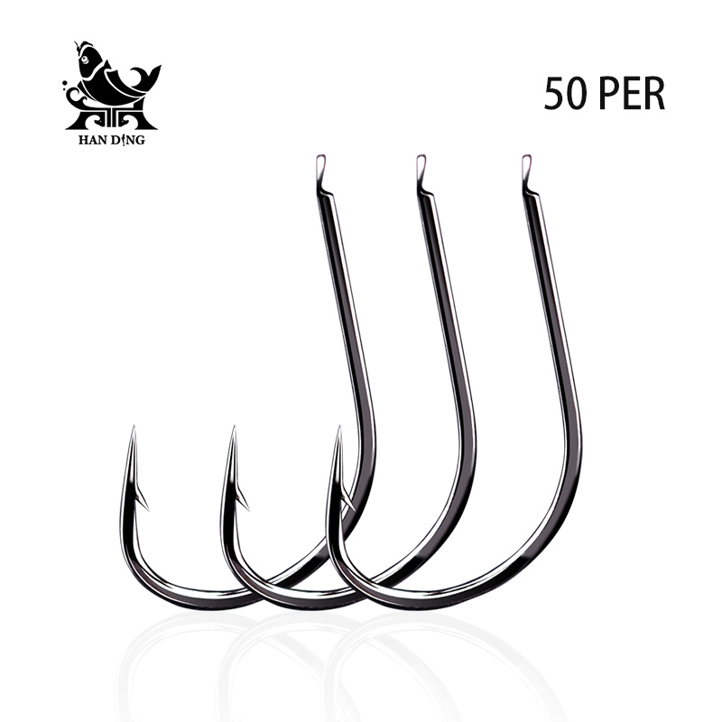 Handing 1#-11# Fishing Barbed Hook High Quality Brand Carp Fishing Accessories Sea Strea ...