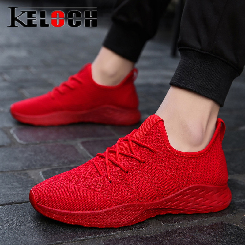 Underwear & Sleepwears Ramialali Fly Knitted Men Running Shoes Mesh Sock Sneakers Jogging Men Shoes Cheap Breathable Sport Shoes High Quality