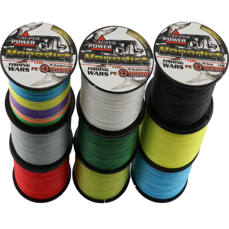 Nieuwe 500M / 547yards merklijn Japan Multifilament 100% PE - Visvangst - Foto 1