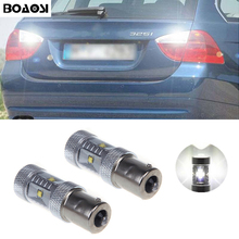 1pc 1156 BA15S P21W Canbus NO Error High Power 30W Cree Chips LED Rear Reversing Tail Light Bulb For BMW E30 E36 E46 F30