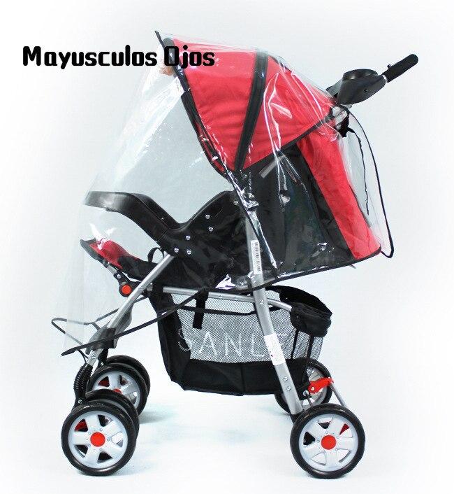 1 Pc Trolley Regen Abdeckung Baby Kinderwagen Regenschirm Universal Regen Abdeckung Kinderwagen Windschutzscheibe