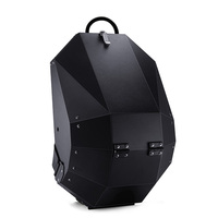 New Design Anti theft metal Backpack for Travel Multi functional Large capacity Solid Color