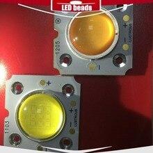 1pcs muqgew cob 20w 27-29V dc spot d2s COB led square light solar outdoor modern down ceiling modul