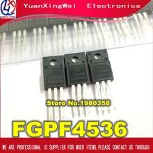 Free shipping 10pcs  FGPF4536 IGBT 360V 28.4W TO220 3 IC Best quality